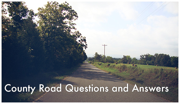 County Road Questions and Answers